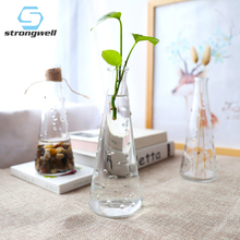 Strongwell Nordic Pastoral Bubble Glass Vase Ins Hydroponic Flower Garden Europe Vases Desktop Home Decoration Gift
