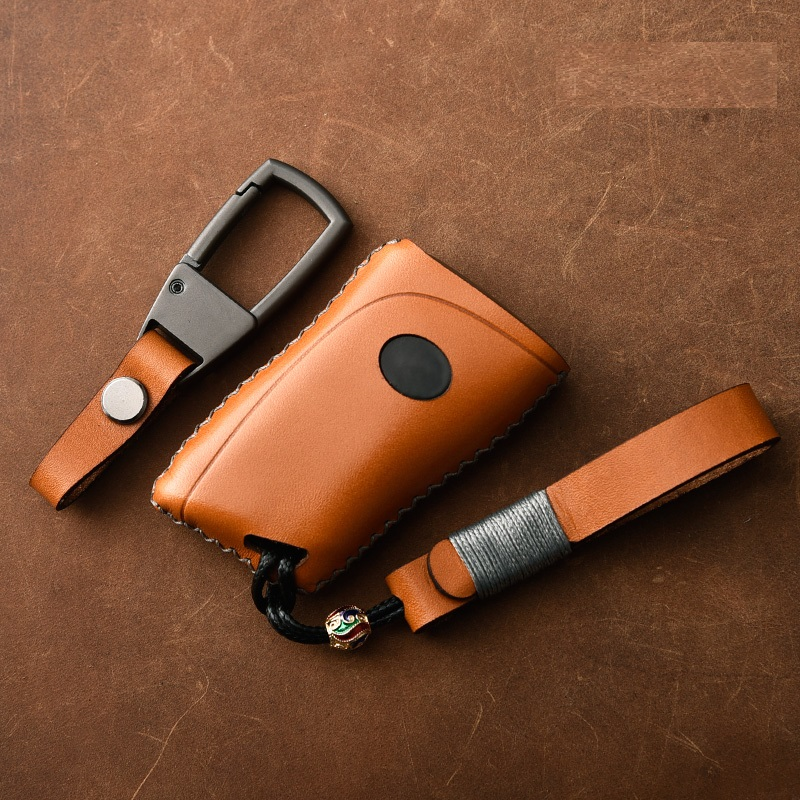 Genuine Leather Car Remote Key Cover key Case For Lexus 2018 ES300h ES350 ES200 ES260 LS350 LS500h Fob Key Car Styling|Key Case for Car| |  - title=