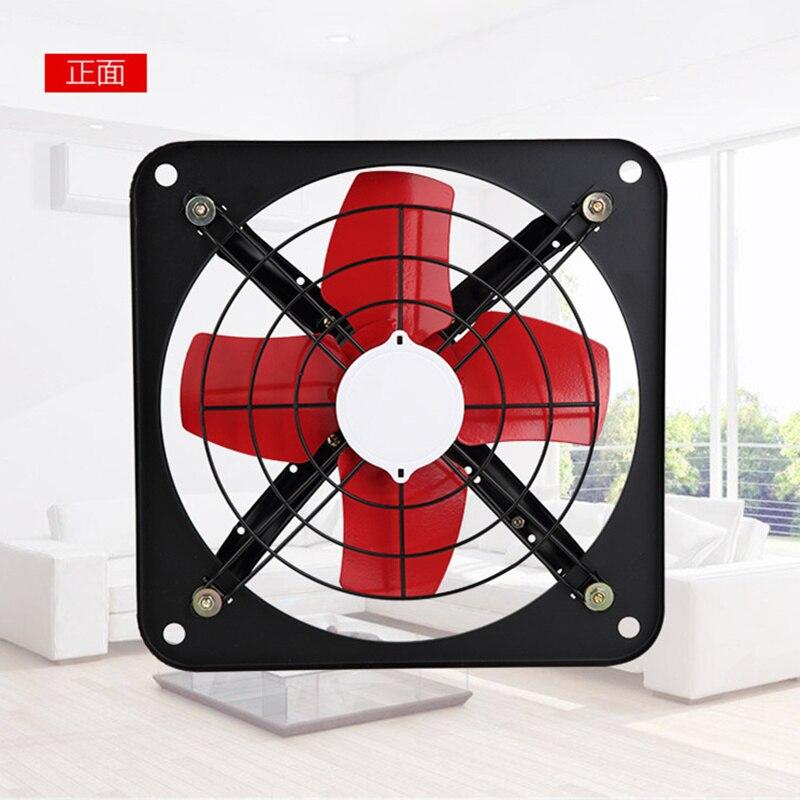 Forte potência durável ventilador fixado na parede janela exaustão ventilador banheiro cozinha banheiros ventiladores de ventilação FAD25-4