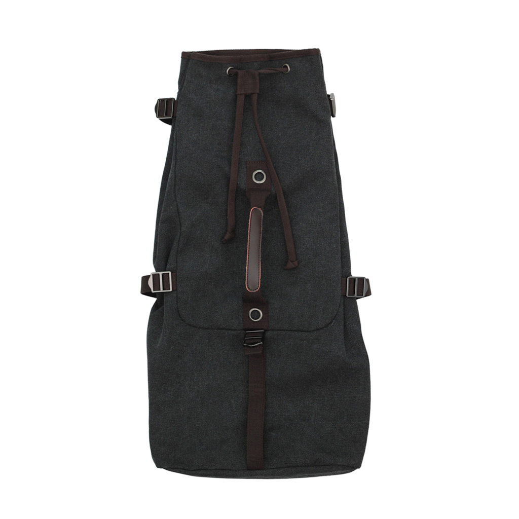 Universal Washed Canvas Storage Bag Case Backpack With Adjustable Straps For 21/23/26 Inch Ukulele Hawaii Guitar
