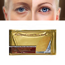 Gold Collagen Eye Neck Mask Crystal Whitening Anti-Aging Nec