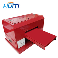 Huiti,2019 Newest Arrivals UV Printer Automatic Flatbed Printers Computer & Office Office Electronics A4 Size Print Machine Free