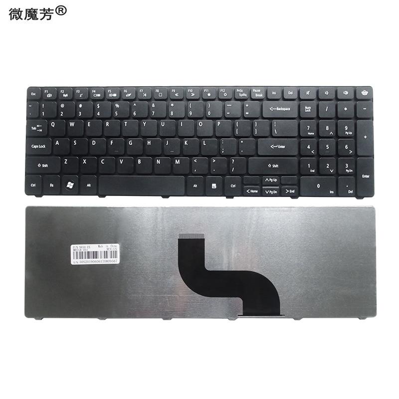Original New for Gateway NEW95 US Keyboard Black