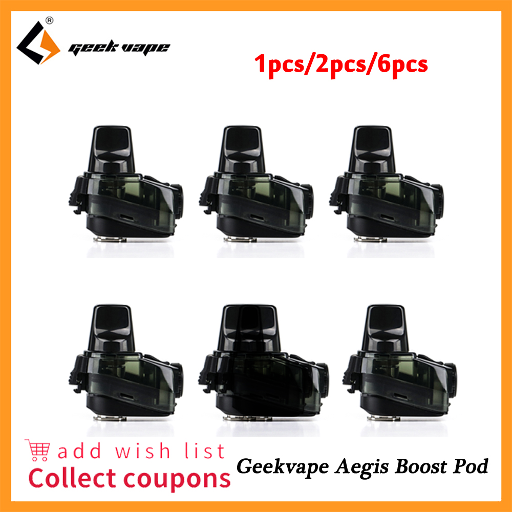 1pcs 2pcs Geekvape Aegis Boost Pod Cartridge 2ml 3 7ml Capacity