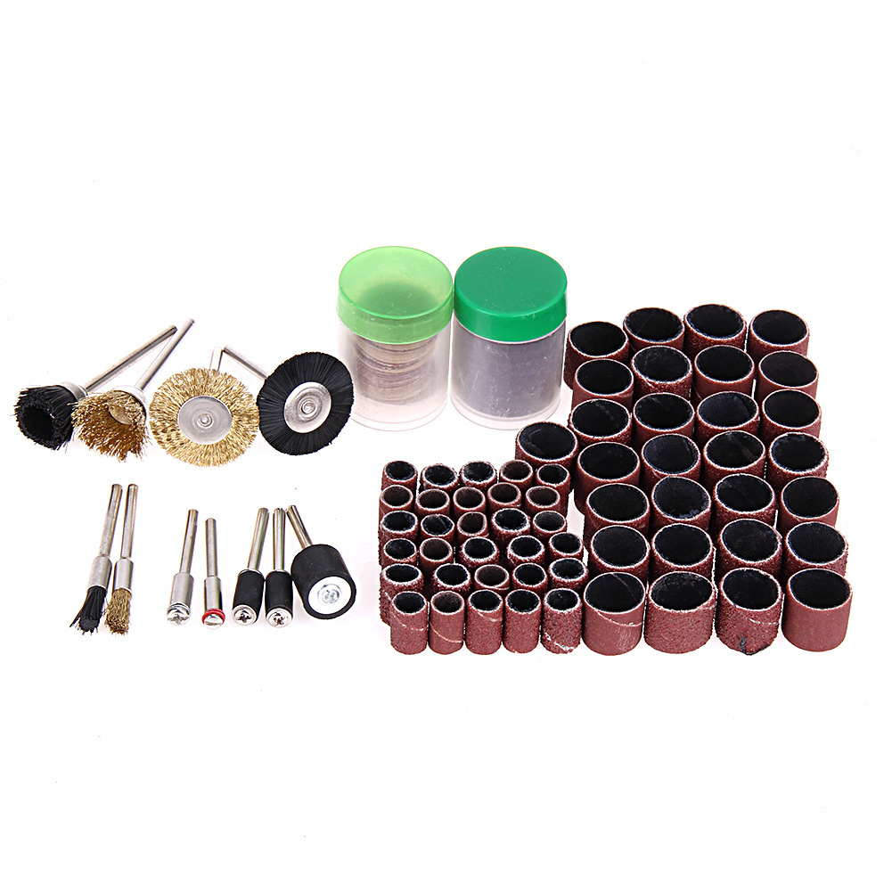 150Pc Electric Grinder Accessories Set Grinding and Polishing Accessories Sand Ring Cutting Piece Wire Brush