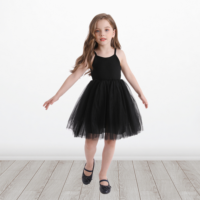 Little Girls Dress For Party Wedding Summer 2021 Baby Kids Dresses for Girls Children's Party Princess Tutu Dress Casual Clothes 4