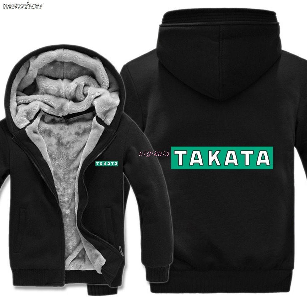 Winter Takata Racing Hoodies Men Fashion Coat Pullover Wool Liner Jacket Takata Racing Sweatshirts Hoody HS-092