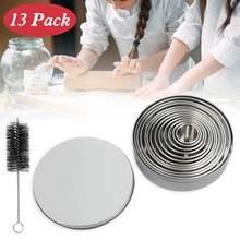 12 шт Инструменты для выпечки Форма торта Мусса формочки печенья
