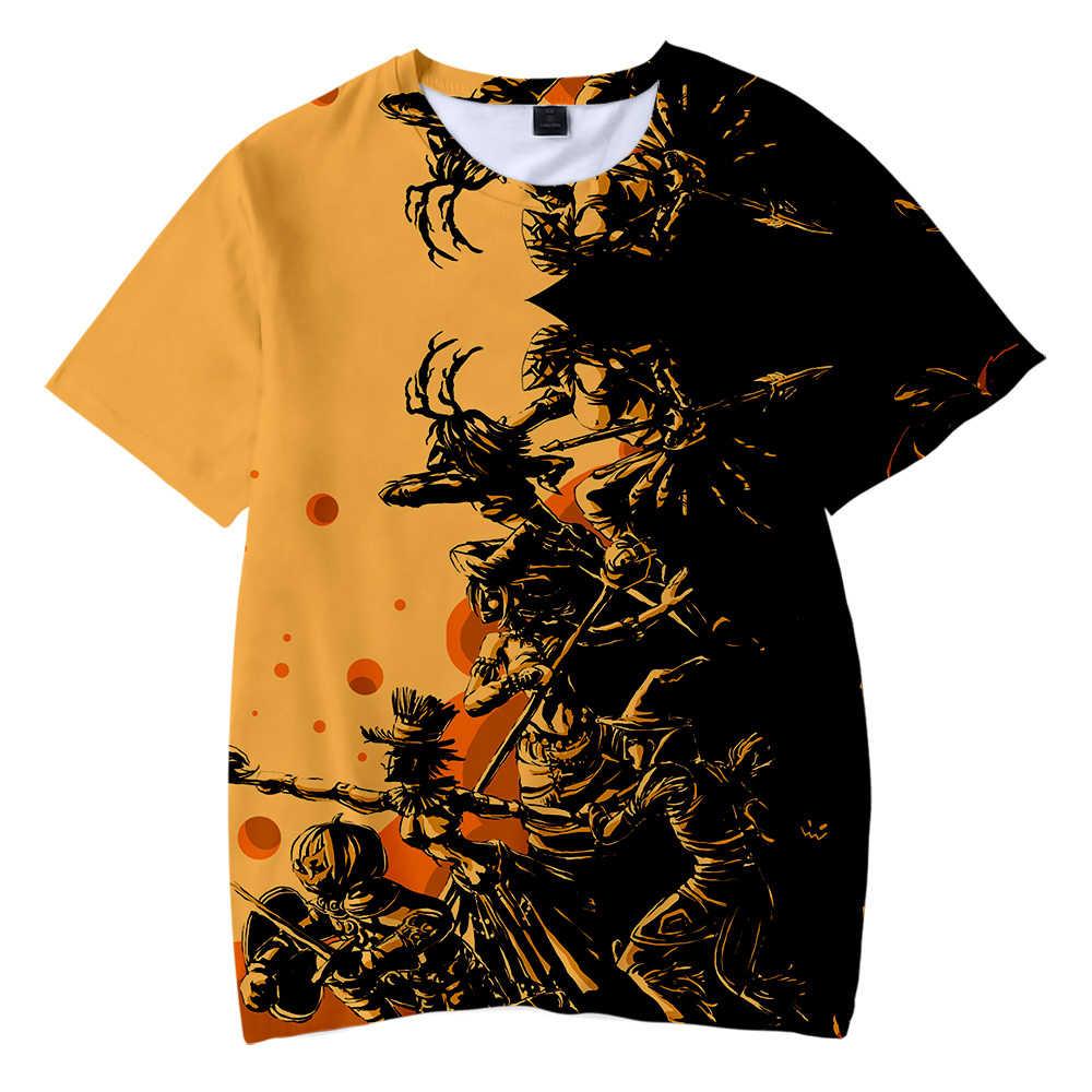 สไตล์พิมพ์ฮาโลวีน 3D เด็ก T เสื้อผู้ชาย/ผู้หญิง 2019 ฤดูร้อน Kawaii น่ารัก Boy/สาวฮาโลวีนฟักทองเด็กเสื้อยืด