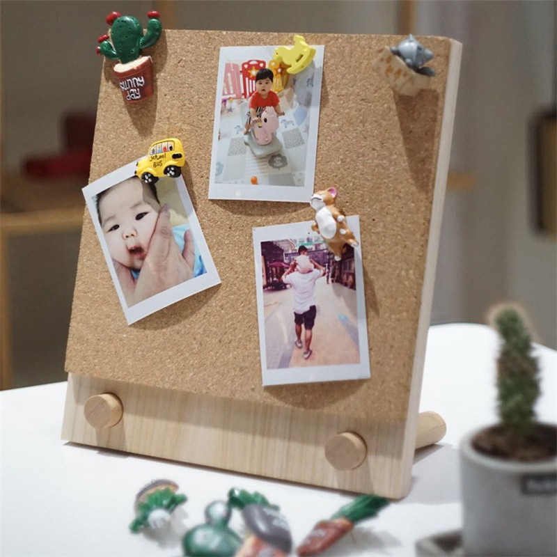 Cork Board Wall Note Photo Piece Board Bulletin Memo Pin Board Cork Office Decorative Organizer Notes Message Boards 21x25cm