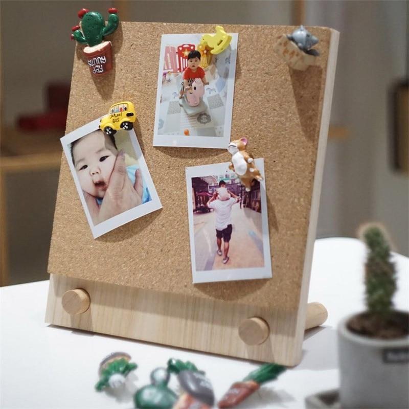 Cork Board Wall Note Photo Piece Board Bulletin Memo Pin Board Cork Office Decorative Organizer Notes Message Boards 21x25cm
