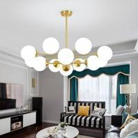Moderna e piena di rame lampadario lampadario a bracci di illuminazione con Lampada Fixtures soffitto kroonluchtera per Soggiorno