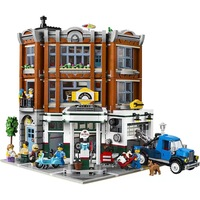 In Stock 15042 2569Ps Corner Garage City Street View Creator Series Building Blocks Compatible With Bela