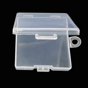 Image 2 - SD TF Transparent Memory Card Holder Component PP Packaging Box Plastic Environmental Protection PP Hook Box Memory Card Cases