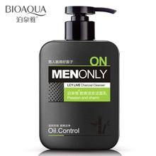 Lotion Facial-Cleanser Face-Washing-Product Charcoal BIOAQUA Men's Control Skin-Care