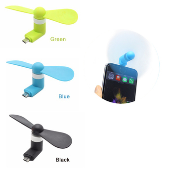 mini fan USB Fan Flexible removable USB Mini Fan For Power Supply USB Output USB Gadgets oem fan for Android system image