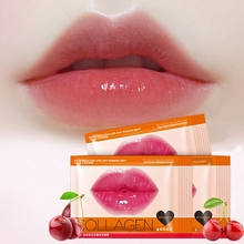 Plumper-Mask Scrub Lips-Care Collagen Pads Enhancer Patch Wrinkle Moisture Honey Gel