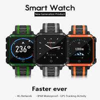 Reloj inteligente micotear h7 IP68 impermeable para deportes reloj inteligente 4G llamada por Internet función de monitorización de ritmo cardíaco adecuado para hombres
