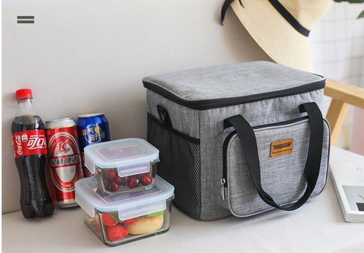 Saco Do Refrigerador Do Piquenique Portátil Tote