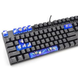 1 набор, силиконовая ручная крышка для клавиатуры