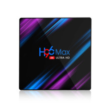 H96Max Smart Android 10.0 tv box 4G 64G RK3318 Box Supoort Bluetooth 4K H96 Max 4G 32G smart tv Set Top Box ship from France