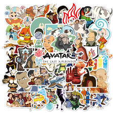 50Pcs Anime Avatar The Last Airbender Waterdicht Stickers Diy Skateboard Gitaar Telefoon Laptop Cool Cartoon Decal Kids Speelgoed Sticker