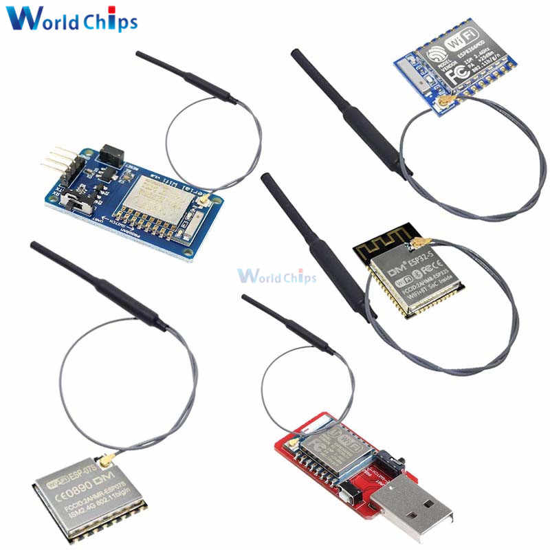 Wifi 2.4 G SMA antenne ESP8266 ESP-07S Serial WIFI Wireless Transceiver Module