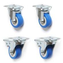 ПВХ ролики 4 шт. ролики тяжелые 2 дюймовый пневматический отливной станок колеса без Шум колеса верхняя пластина ALI88