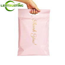 Pink/White/Black Thank You Portable Poly Mailer Adhesive Envelopes Bags Courier Hair Bundles Party Gifts Boxes Shipping Pouches