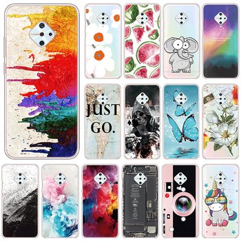 Cute Case For vivo S1 Pro 4G Soft Silicone Back Cover For vivoS1Pro vivoS1 S 1 Pro 6.38 Phone Cases TPU Shockproof Fundas Coque image