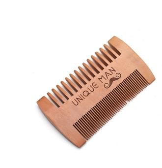 Natural Green Pear Wood Hair Brush Hair Comb For Men Beard Care  Anti-Static Wood Comb Hair Care Tools Round Brushing Brush Hair