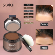 Sevich Hair Fluffy Powder Instantly Black Blonde Root Cover Up Hair Concealer Coverag Paint Repair Fill In Shadow Thinning