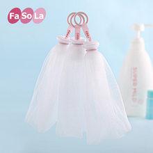 Japão rosto de lavagem sabão espuma líquido banho chuveiro sabão bolha bolha malha corpo limpeza redes banho lavagem ferramenta acessórios do banheiro