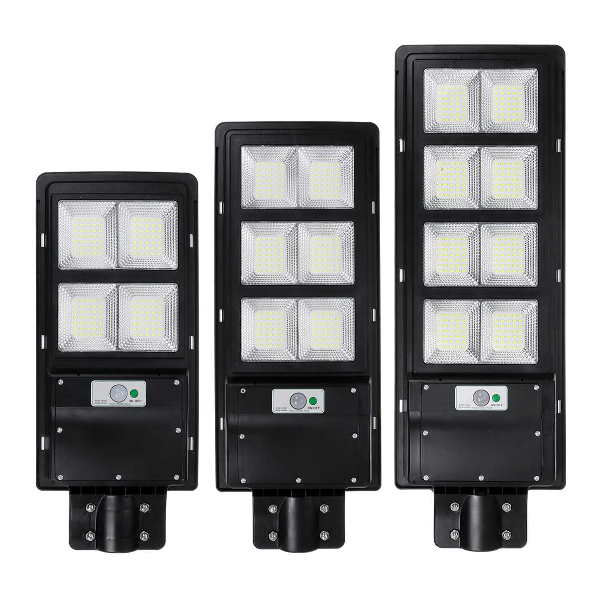 LED Solar Wall Lamp IP65 Street Light Radar Motion 2 In 1 Constantly Bright Solar Sensor Timming Control Lamp 300W 600W 900W
