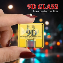 9D Camera Lens Screen Protector For Huawei Honor 10 9 Lite 20 7C 7A Pro Phone Protective Glass Film for 8X 10i 20i