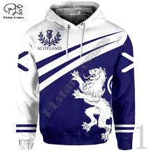 Plstar cosmos 3dprint newfashion tribal escócia país cultura harajuku unisex streetwear engraçado casual hoodies/moletom/zip6