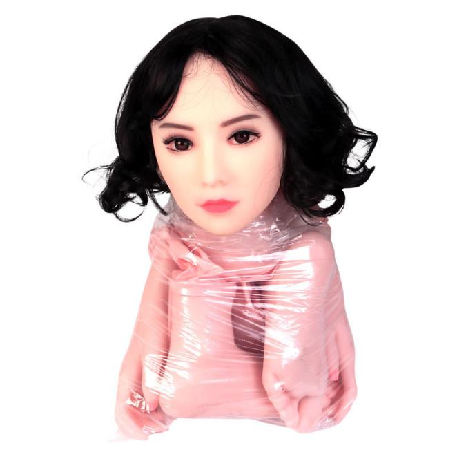 Ha59da966d7204c5d8a40ee876a99584fY Sex Doll Sexy Toys Semi-Solid Silicone Inflatable 157Cm Weight 2Kg Masturbation Oral Anal Full Body Real Breast Ass Vagina Anus