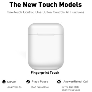 Image 5 - I12 Tws Touch Control Ohrhörer Drahtlose Bluetooth 5,0 Mini Kopfhörer 3D Super Bass Kopfhörer Mit MIC Lade Box Fabrik Preis