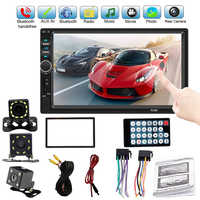 "2 Din Auto Multimedia Player Autoradio 7018B 7 ""Mp5 Multimedia Player Stereo Touch Screen Video Auto Radio Audio Bluetooth player"