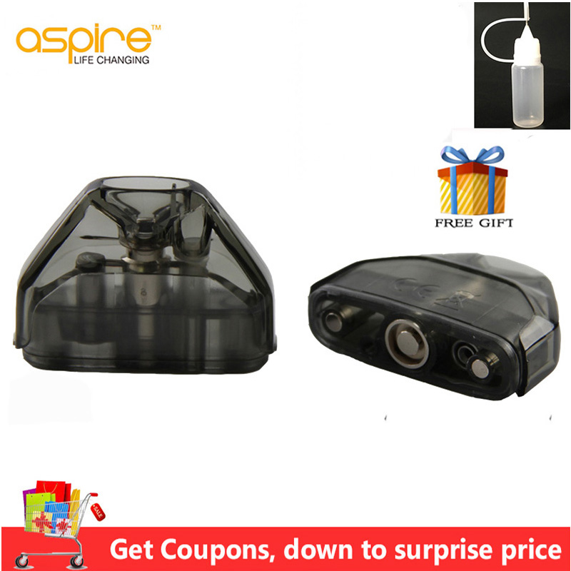 4/6/10pcs Aspire AVP Pod 2ml Capacity Vape Pod Cartridge With 1.2ohm Cotton/1.3ohm Ceramic Coil Electronic Cigarette Atomizer