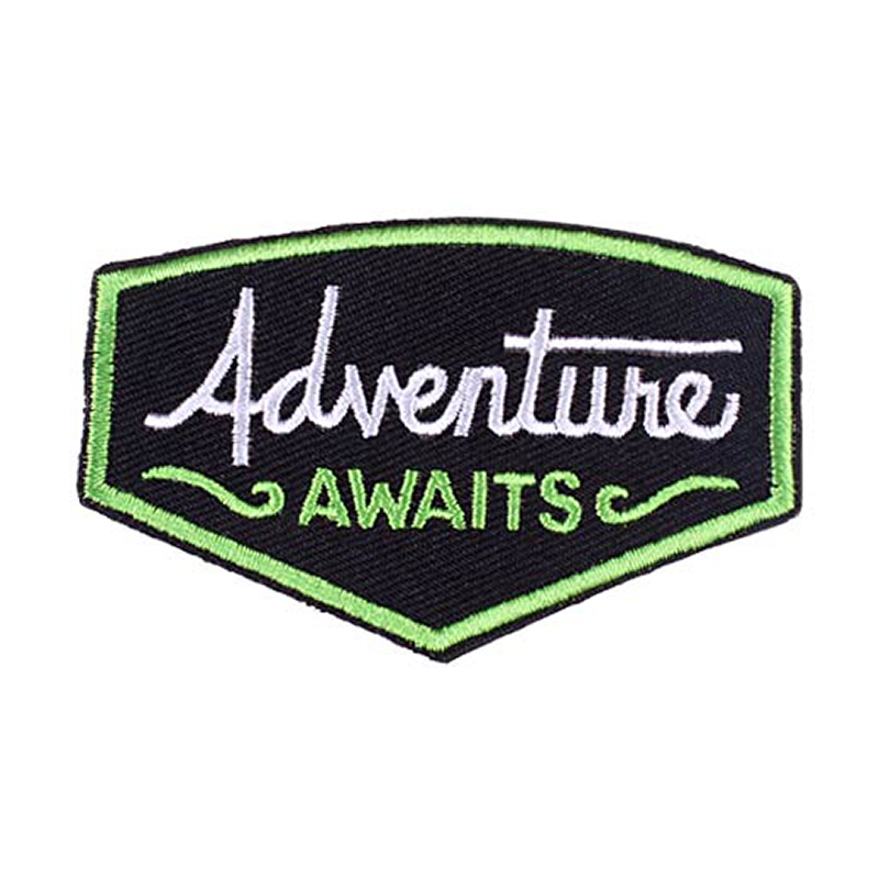 Prajna Adventure Badge Patches Mountain Climb Accessory Iron on Embroidered Patch For Clothing T Shirts UFO Hippie Applique DIY