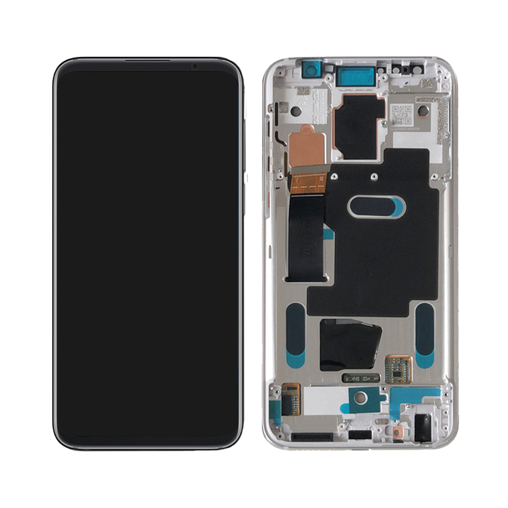 Original LCD For Meizu 16 16th M882Q M822H LCD Display Touch Screen Digitizer Glass Panel Assembly + Frame for Meizu 16 plus LCD
