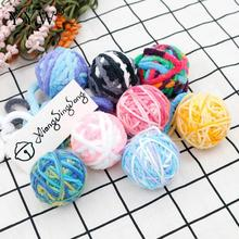 Caddice Cat Rolling Balls Interactive Toys Play Chewing Rattle Scratch Catch Pet Kitten Exrecise Toy Supplies