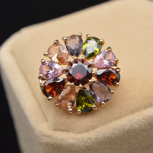 Brooch Flower-Pin Zircon Collar Cindy Xiang Fashion Jewelry Small Women Shining for BR10-0022