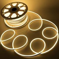 IP68 Wasserdichte Led Neon Röhre AC 220V SMD 2835 Flexible Neon Streifen RGB/Einzel Farbe Für Outdoor Dekorative beleuchtung 5m 10m 20m-in LED-Streifen aus Licht & Beleuchtung bei