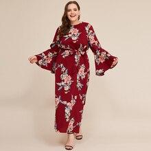 Siskakia Maxi Dress for Women Plus Size