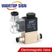WaveTopSign Pneumatic One In One Out The Electromagnetic Valve On-off Valve Air Valve AC220V DC24V 12V