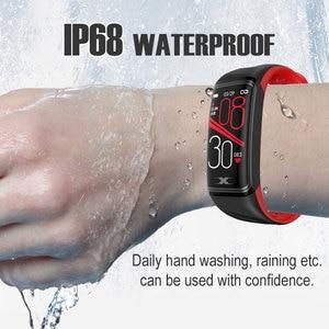 Image 5 - Smart Bracelet IP68 Waterproof 1.14inch Smart Band Heart Rate Blood Pressure Monitor Pedometer Fitness Traker Smart Wristband