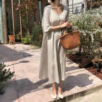 Femmes été surdimensionné Vintage coton lin longue Robe Femme lâche droite Vestidos avec poche Robe Femme Ete décontracté Jurken