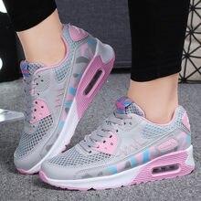 Модные женские кроссовки для девушек уличная дышащая удобная
